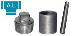 Stahlfittings und Rohrdoppelnippel