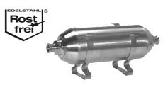 Druckluftbehälter Edelstahl