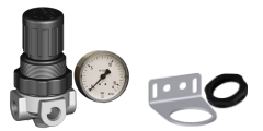 Druckregler Luft Serie MINI