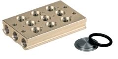 Ventilleisten - Grundplatten - Blindplatten - Verschlußstopfen